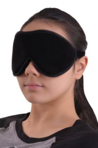 "Invest in a ""blackout"" eyeshade to block out all light"