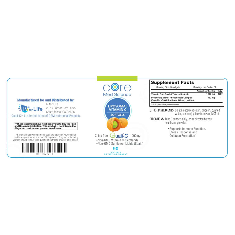 Liposomal Vitamin C SOFTGELS
