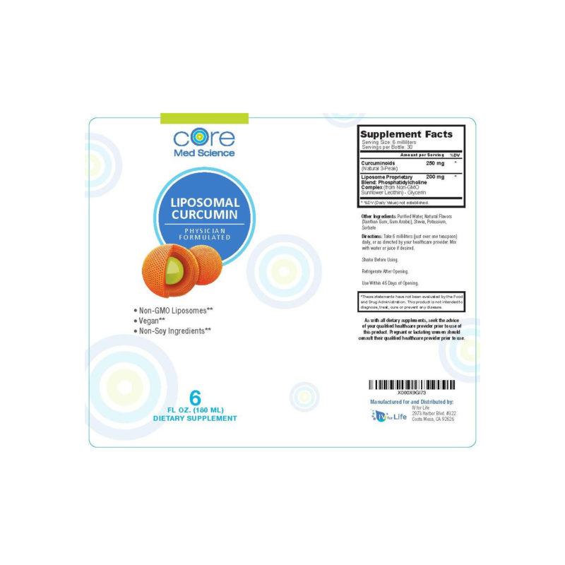 Optimized Liposomal Curcumin