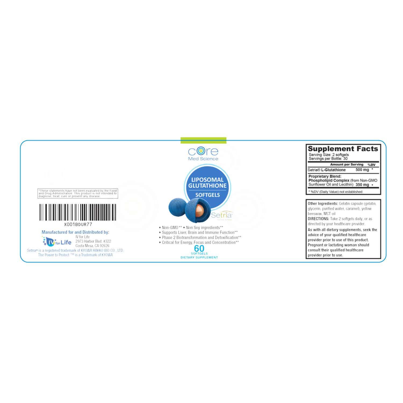 Liposomal Glutathione SOFTGELS